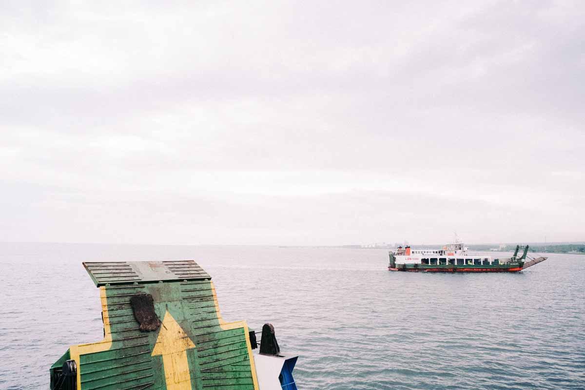Penyeberangan Antar Pelabuhan Gilimanuk dan Pelabuhan Ketapang
