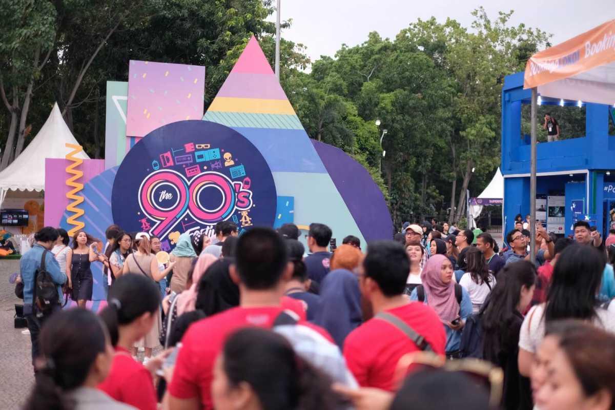 Mesin Waktu Raksasa itu Bernama 90's Festival