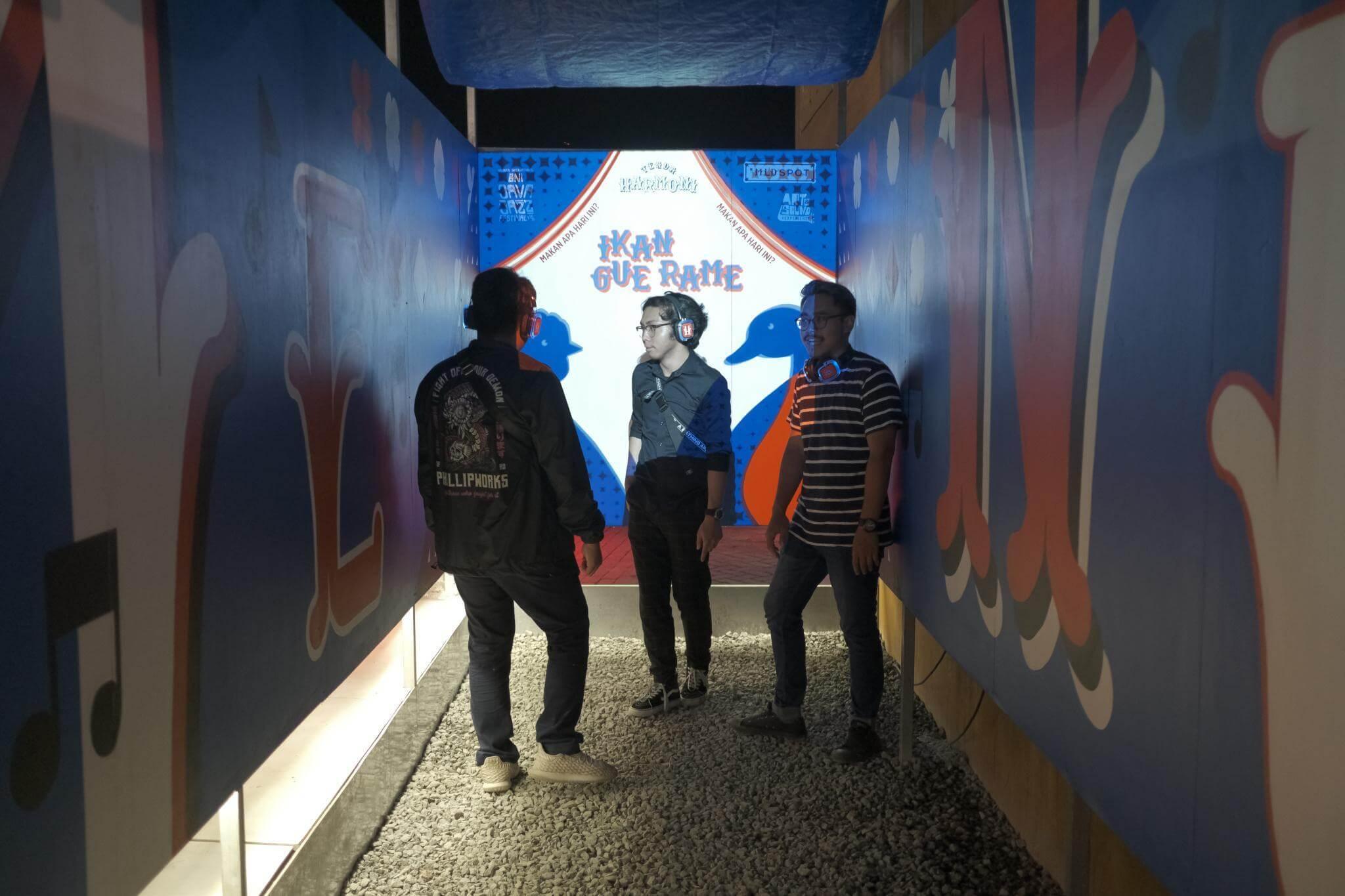 Gang Buntu didatangi 3 pengunjung pria