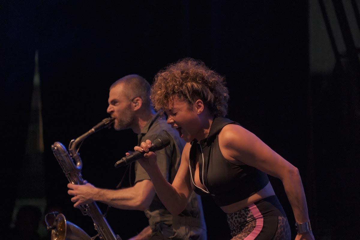 Brass Against tampil energik di Java Jazz Festival 2020