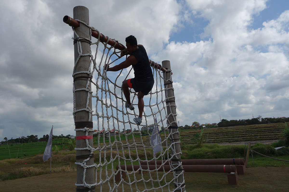 Salah satu obstacle di Empire Fit Club Bali