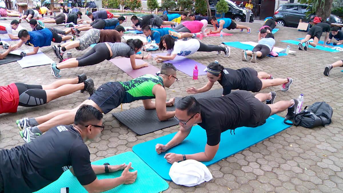 Indosweatcamp, Komunitas Olahraga yang Hits di Kalangan Anak Muda