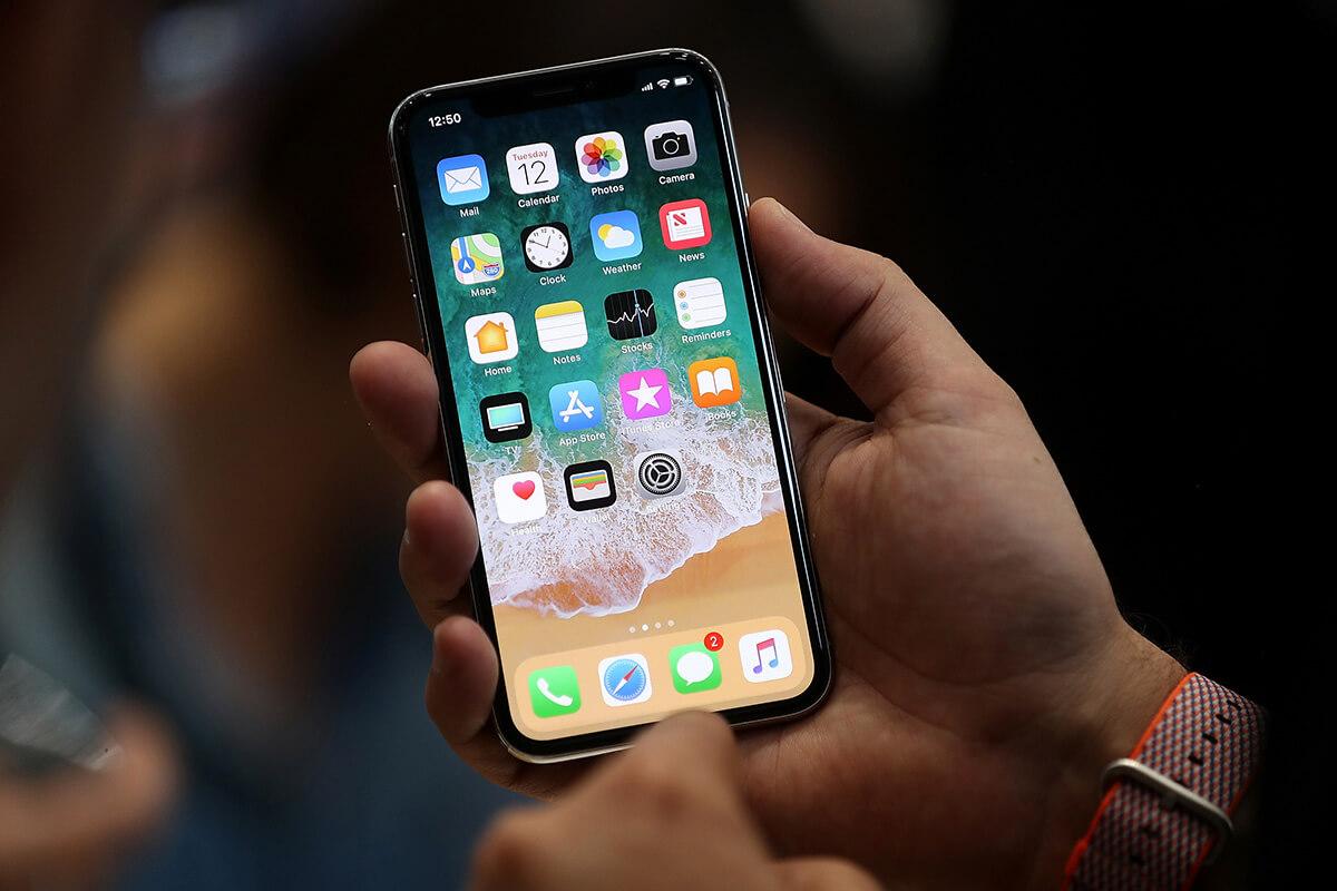 iOs 11 sesaat setelah dirilis Apple pada 2017