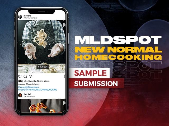 ikutan video kompetisi #MLDSPOTNEWNORMALHOMECOOKING sekarang!