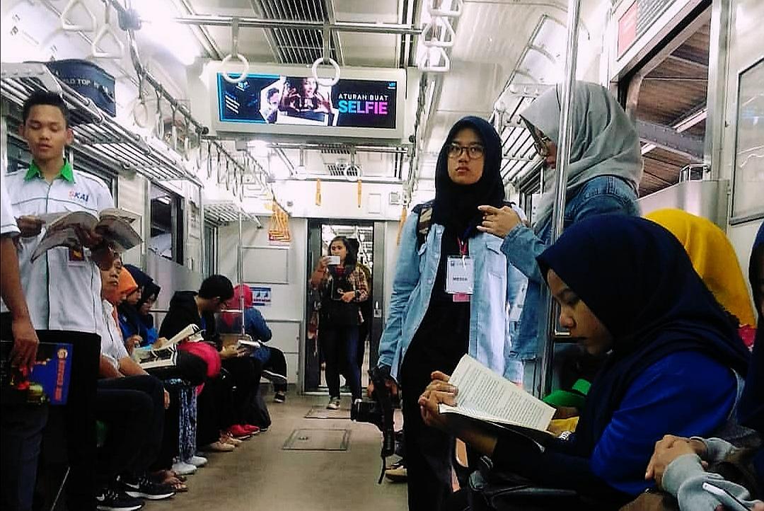 KeREADta pertama pada tahun 2017 diadakan di Commuter Line